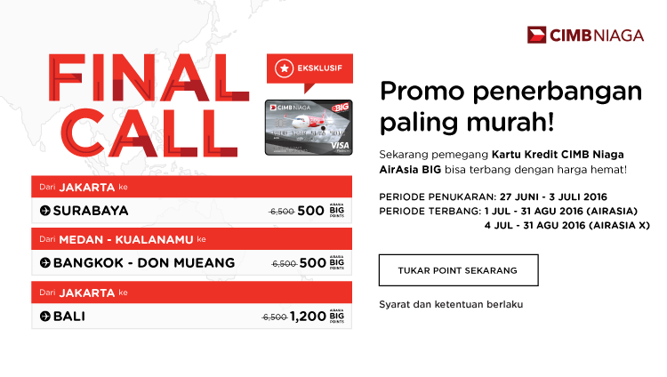 AirAsia Final Call 27 Jun – 3 Jul 2016