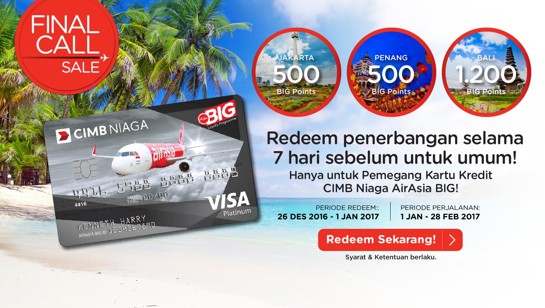 Airasia Final Call 26 Des 2016 – 1 Jan 2017