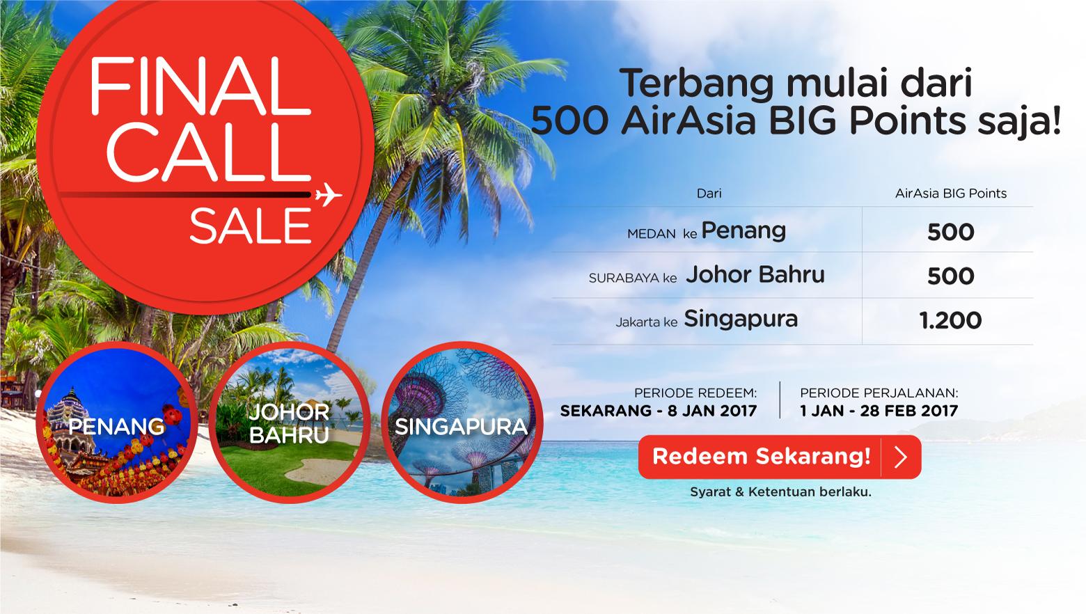 Airasia Final Call 2 – 8 Jan 2017