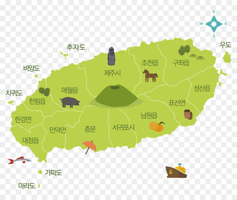 Jeju Island Beaches: Jeju + Udo Island