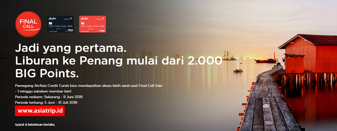 AirAsia Final Call 03 JUN – 09 JUN 2019