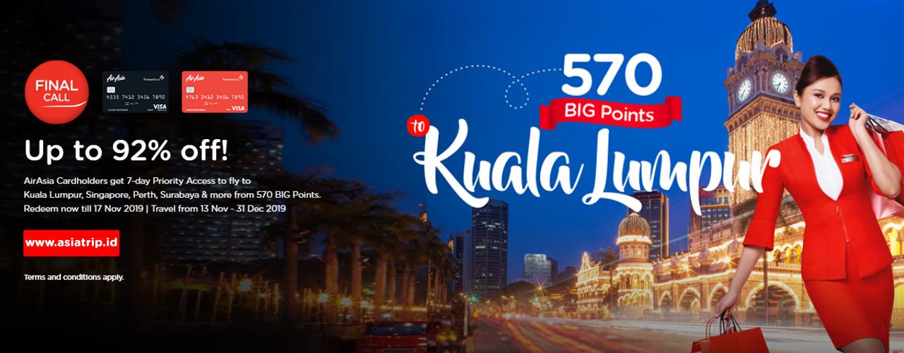 AirAsia Final Call 11 NOV – 17 NOV 2019